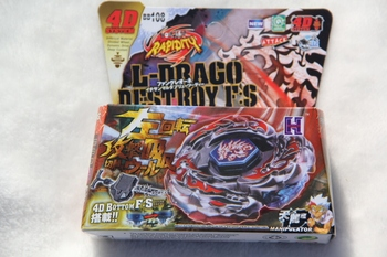 Yeni Gelen! S BB-108 4D Sistemi + Launcher Beyblade Metal Fight L-Drago Destroy F: 26985